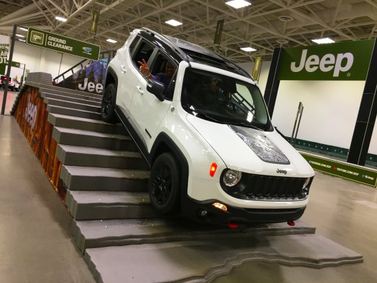 The Convention Center Has Enough Room For An Obstacle Course At The - Minneapolis car show