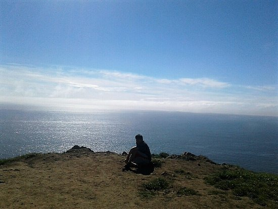 Muir Beach, Kalifornia: My son.