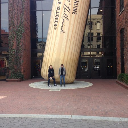 Photo of Tourist Attraction Louisville Slugger Museum & Factory at 800 West Main Street, Louisville, KY 40202, United States