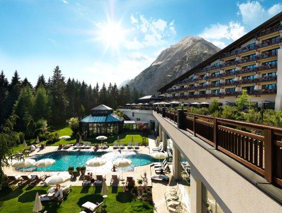 Telfs, Austria: Exterior view in summer