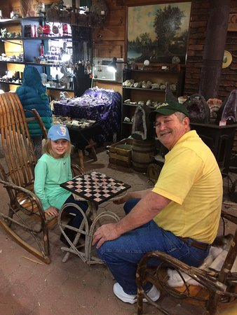 Hendersonville, NC: Checkers at Elijah Mountain Gem Mine