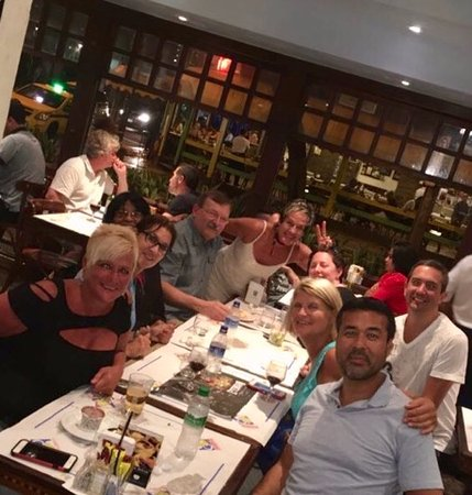 Bar e Restaurante Garota de Ipanema : It all starts with great friends!