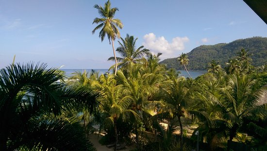 Anse Forbans, Ilhas Seychelles: View from the balcony