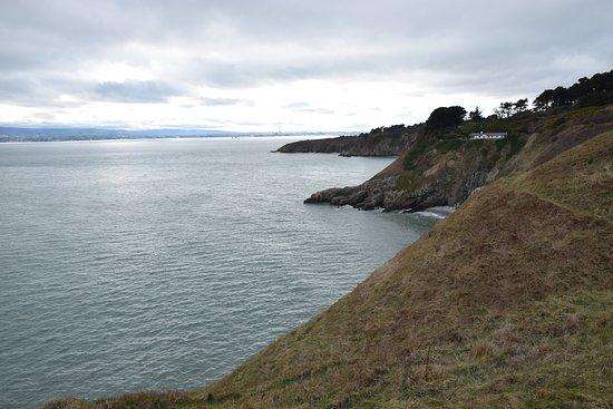 Howth, Irland: Vista del promontorio