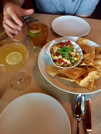 Jenner, CA: Ceviche and cocktails