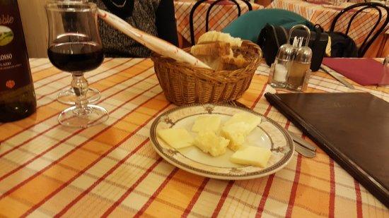Hostaria Dei Bastioni: i formaggi stagionati