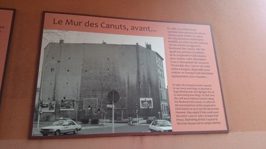Le Mur Des Canuts : Mur des cantus