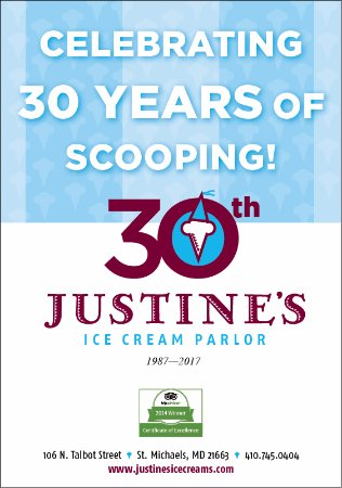 St. Michaels, MD: Celebrating 30 Years of Scooping 1987 - 2017