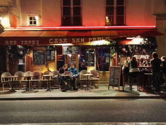 Photo of Latin American Restaurant Casa San Pablo at 4 Rue De Sevigne, Paris 75004, France