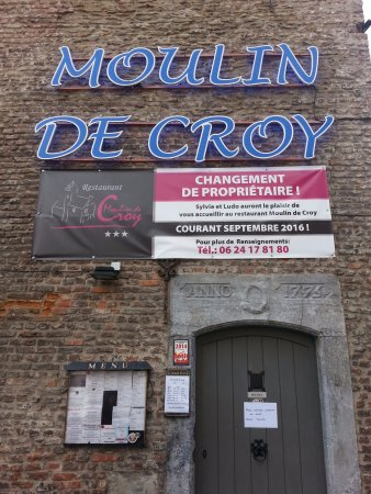 restaurant le moulin de croy picture of le moulin de croy conde sur l 39 escaut tripadvisor. Black Bedroom Furniture Sets. Home Design Ideas