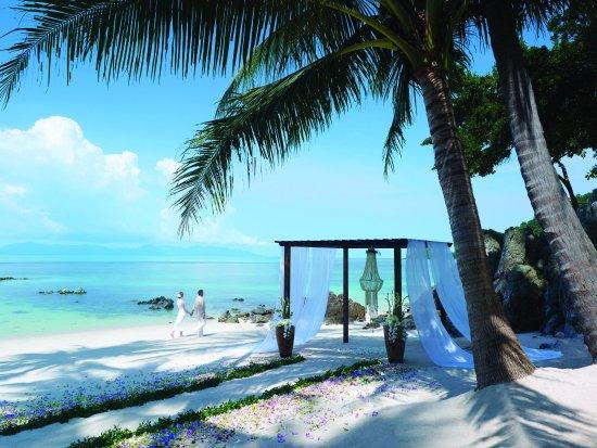 Four Seasons Resort Koh Samui Thailand : Beach Wedding