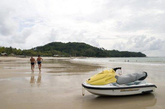 Bang Tao Beach, Thaïlande : Boating.