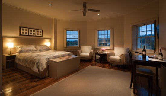 New Norfolk, Australia: Tower bedroom