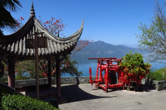 Xichang, Cina: When the weather is good, this place is definitely worth it to stay here for at least one day. Y