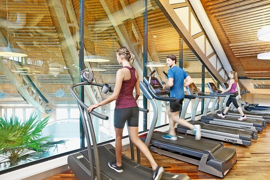Abtwil, Schweiz: Fitness center