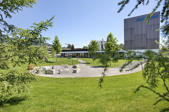 Abtwil, Ελβετία: Hotel park