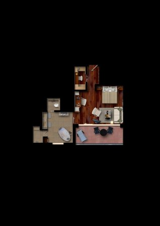 Bad Ragaz, Schweiz: Map - Spa Loft Suite