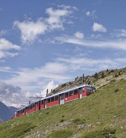 Riffelalp Resort 2222 m: Gornergrat Train