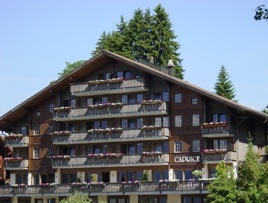 Hotel Caprice: Caprice Front Summer