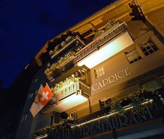 Hotel Caprice: Breathtaking vistas and storybook Alpine style