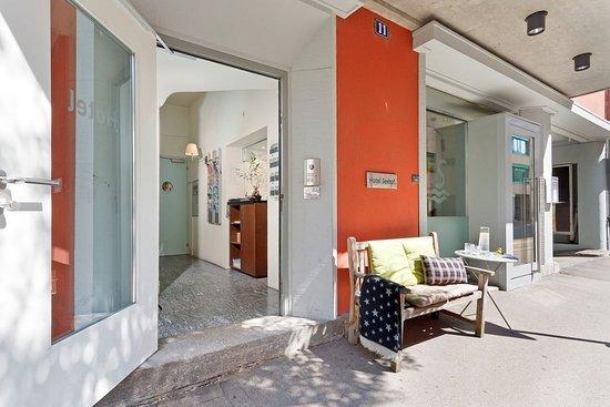 Hotel Seehof: RÉCEPTION