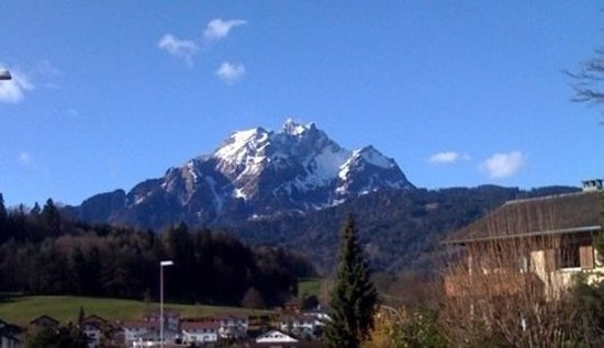 Horw, Switzerland: View from the hotel