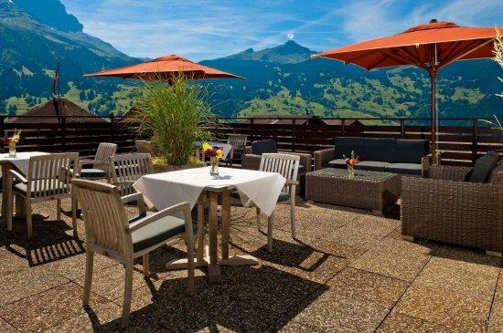 panorama suite eiger view bild von hotel kreuz post grindelwald tripadvisor. Black Bedroom Furniture Sets. Home Design Ideas