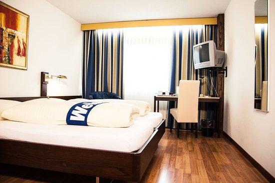 Quality Swisshotel Zug: Double Room