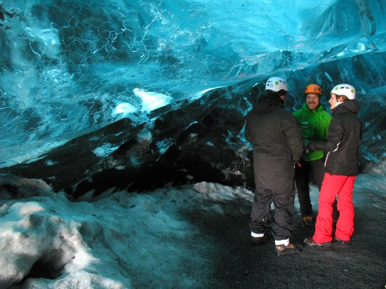 Hofn, أيسلندا: In the cave