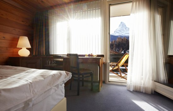 Europe Hotel & Spa: Double Room Matterhorn View
