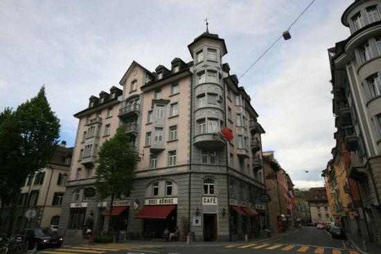 Drei Konige Hotel Lucerne