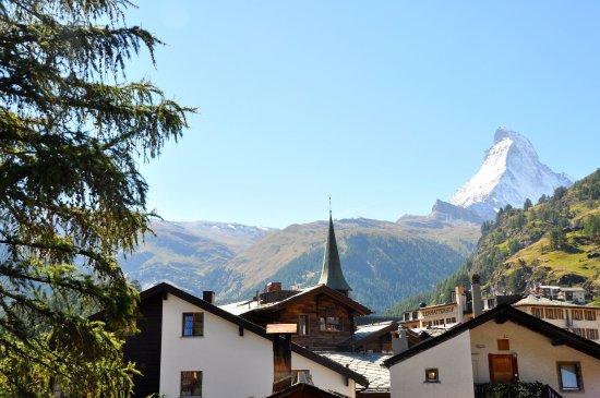 Mischabel ferienwohnungen zermatt suisse voir les for Piscine zermatt