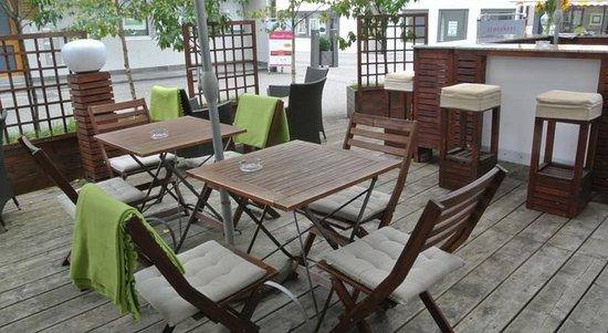 Hotel Zum Hirschen : Terrace
