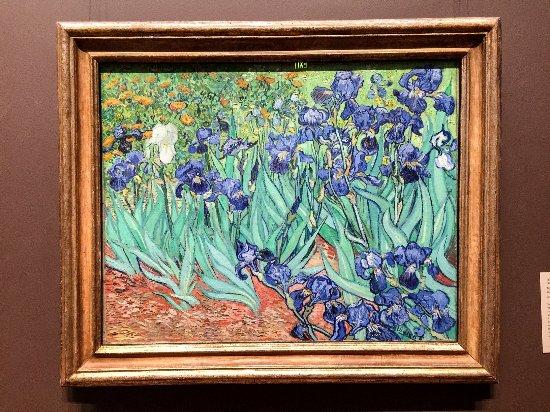 The Getty Center: Irises - Vincent van Gogh (Dutch, 1853 - 1890)