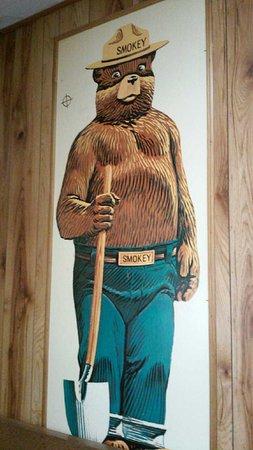 Capitan, NM: Everyone knows this pic of Smokey!