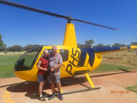 Yulara, Austrália: Kings Canon Flight