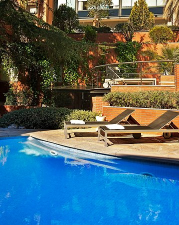 Pool at Hotel Balmes Barcelona