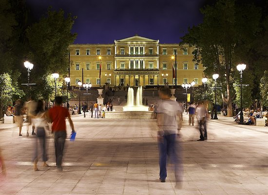 InterContinental Athenaeum: The bustling city centre, close to the hotel