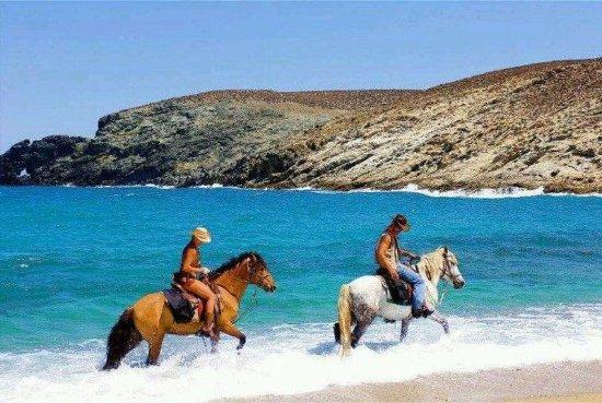 Agios Stefanos, Greece: Horseriding