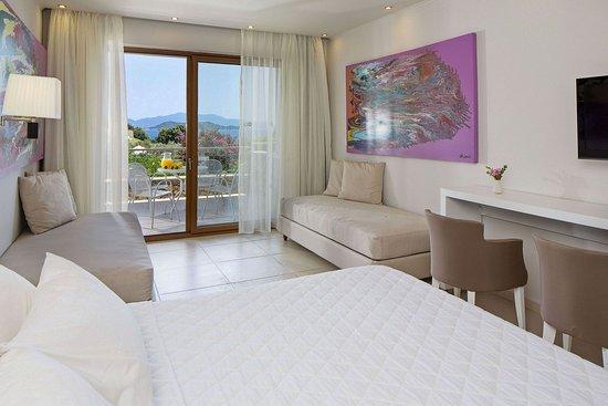 Vasilias, Greece: Superior Double Room Sea View
