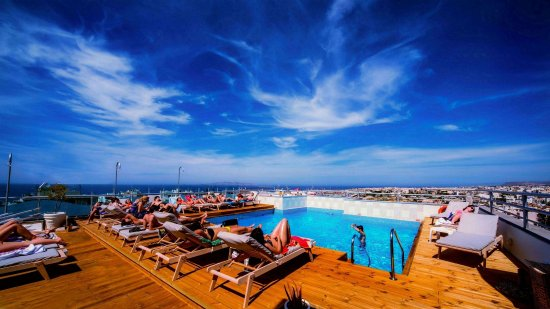 Capsis Astoria Heraklion Hotel: RoofTop Pool