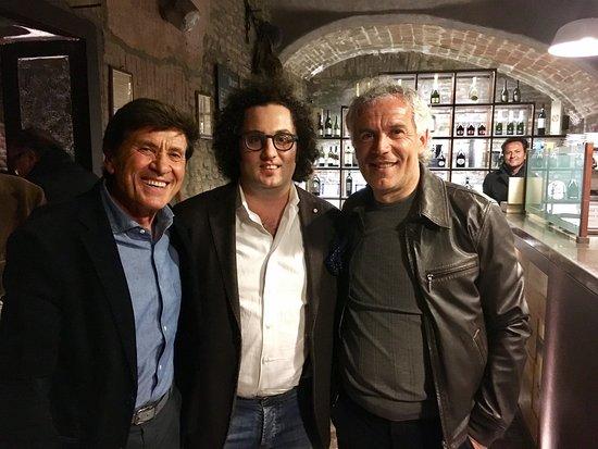 Casalecchio di Reno, Italia: Con Due Miti di Bologna al Ristorante Tramvia #Roberto #Donadoni #Mister #BolognaFc e #Gianni #M