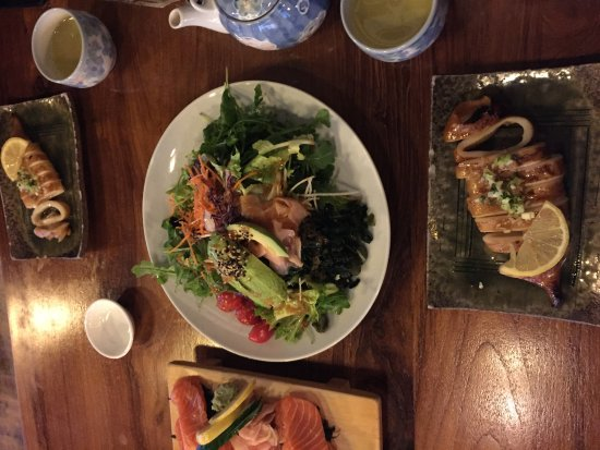 Cafe Japonais : plats divers, tous bons!