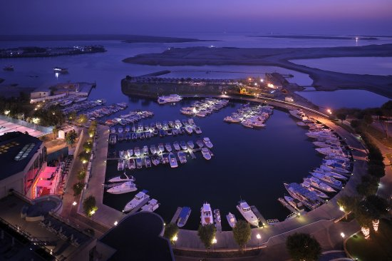 InterContinental Abu Dhabi: View from the hotel overlooking the Marina
