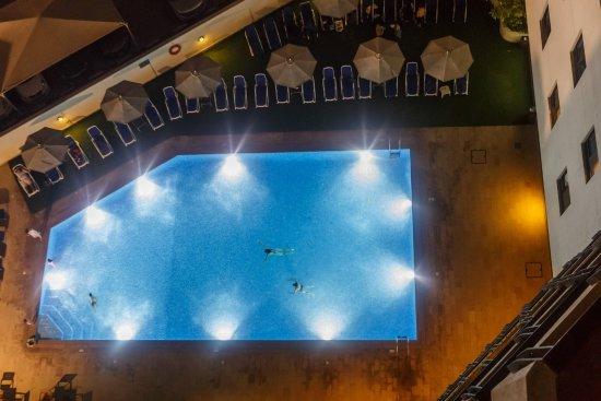 Arabian Park Hotel: Swimming Pool From Top Floor