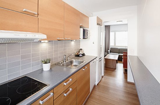 Hotel Rantapuisto: Apartment Two Bedrooms Kitchen