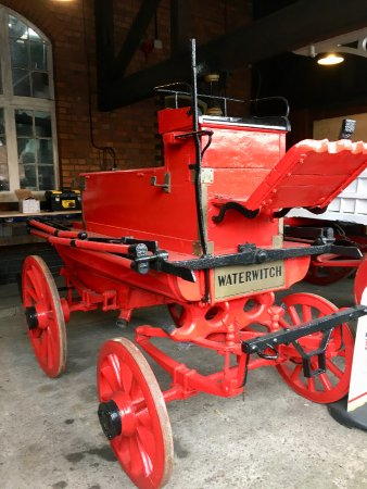 Burton upon Trent, UK: An old fire engine
