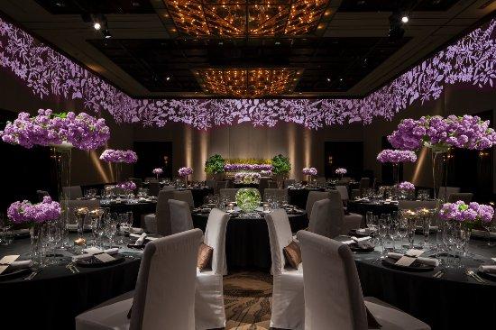 Mandarin Oriental, Tokyo: Videowall at Grand Ballroom