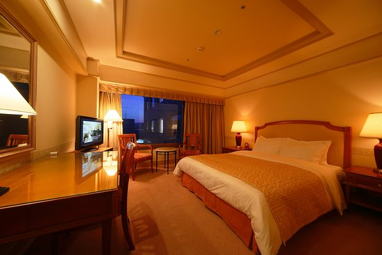 Hotel Nikko Princess Kyoto: Standard Double West Night