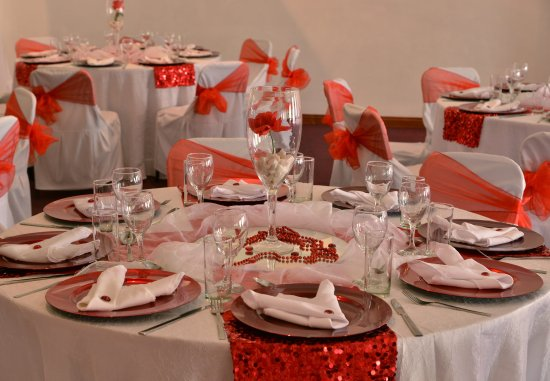 Klerksdorp, South Africa: Banquet Setup